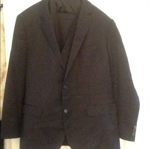 HUGO BOSS REDA SUPER 110s 2-PC PINSTRIPE SUIT NWOT